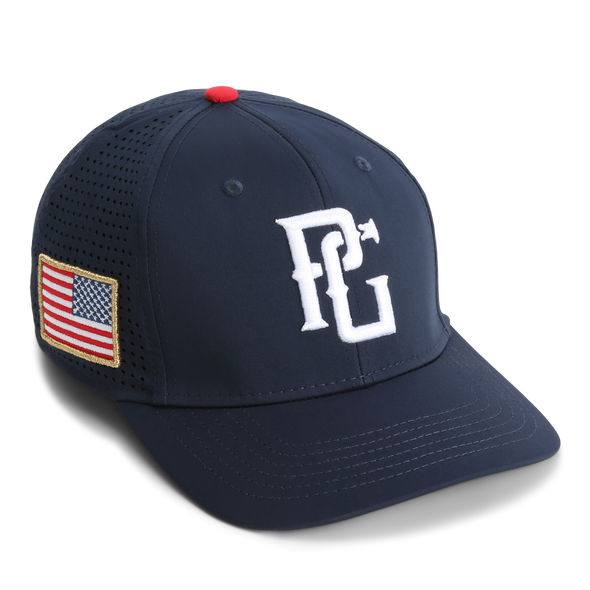 The Field One Patriotic v2.0 - Navy - Perfect Game Apparel
