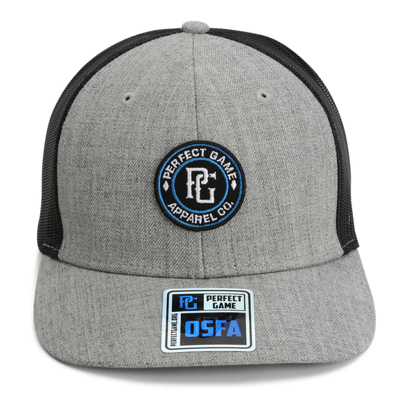 The Trucker Apparel Co. - Heather Grey/Black - PG Apparel