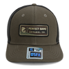 The Trucker Apparel Co. - Olive/Black - PG Apparel