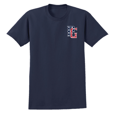 Perfect Game Apparel - Independence Day: PG Flag T-Shirt - PG Apparel