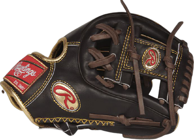 Rawlings Gold Glove 11.5 in Mocha Infield Glove - Perfect Game Apparel