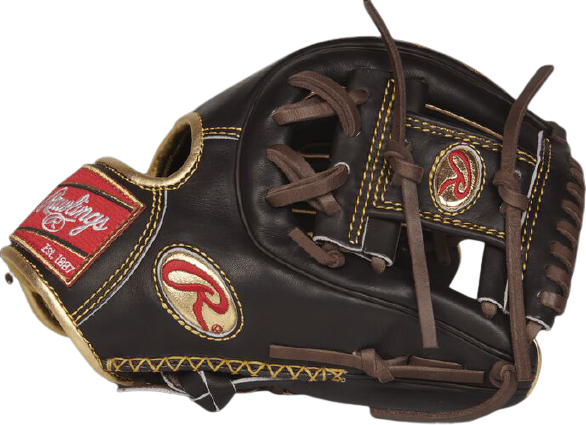 Rawlings Gold Glove 11.5 in Mocha Infield Glove - PG Apparel