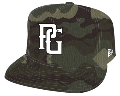 Perfect Game New Era 59FIFTY Hat - Woodland Camo - Perfect Game Apparel