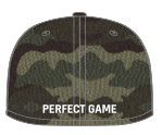 Perfect Game New Era 59FIFTY Hat - Woodland Camo - PG Apparel