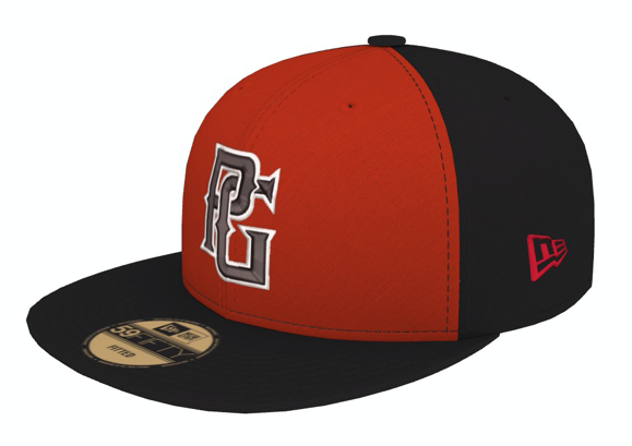 Perfect Game New Era 59FIFTY Hat - Black & Red - PG Apparel