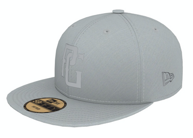Perfect Game New Era 59FIFTY Hat Grey - Perfect Game Apparel
