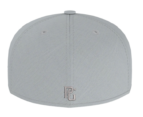Perfect Game New Era 59FIFTY Hat Grey - PG Apparel