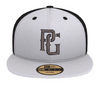 Perfect Game New Era 59Fifty Hat - Black & White - Perfect Game Apparel