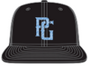Perfect Game New Era 9FIFTY Trucker Hat - Columbia Blue PG - Perfect Game Apparel