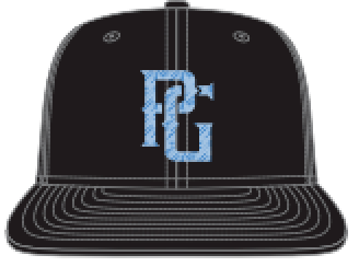 Perfect Game New Era 9FIFTY Trucker Hat - Columbia Blue PG - PG Apparel
