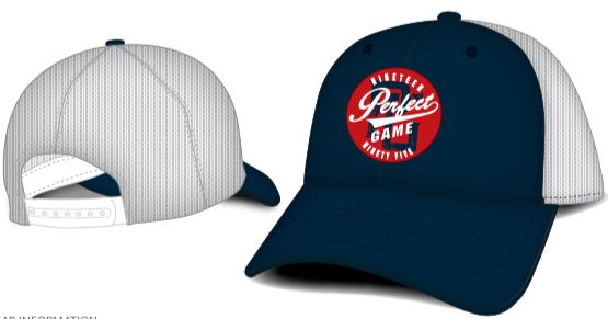Perfect Game Trucker Hat - Navy - PG Apparel
