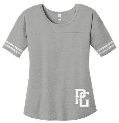 Perfect Game Lifestyle Ladies Varsity Tee - PG Apparel