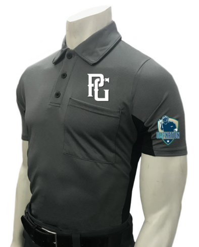 UmpNation Polo - Charcoal - PG Apparel
