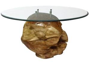 3 Unique Teak Root Ball Tables That Are Real Head Turners