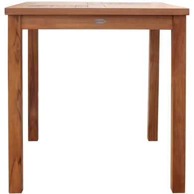 Teak Bistro Table, Large-Chic Teak
