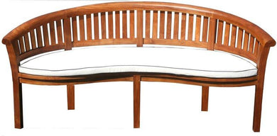 Cushion For Double Peanut Bench-Chic Teak
