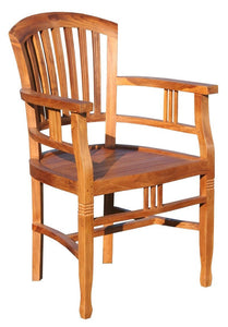 Teak Orleans Arm Chair - La Place USA Furniture Outlet