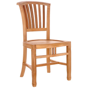 Teak Wood Orleans Side Chair