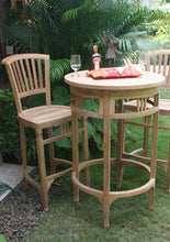 Teak Wood Orleans Counter Stool - La Place USA Furniture Outlet
