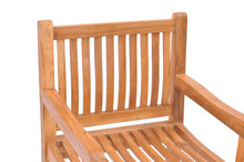 Teak Wood Elzas Arm Chair - La Place USA Furniture Outlet