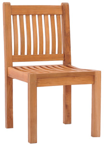 Teak Wood Elzas Side Chair - La Place USA Furniture Outlet