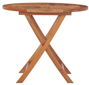 Teak Wood California Folding Table - La Place USA Furniture Outlet