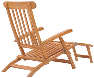 Teak Wood Titanic Outdoor Reclining Steamer Chair - La Place USA Furniture Outlet