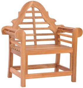 Teak Wood Lutyens Chair - La Place USA Furniture Outlet