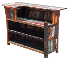 Marina Del Rey Recycled Teak Wood Boat Bar (Available in Left or Right) - La Place USA Furniture Outlet
