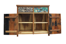 Chest 2 Doors 2 Drawers - La Place USA Furniture Outlet