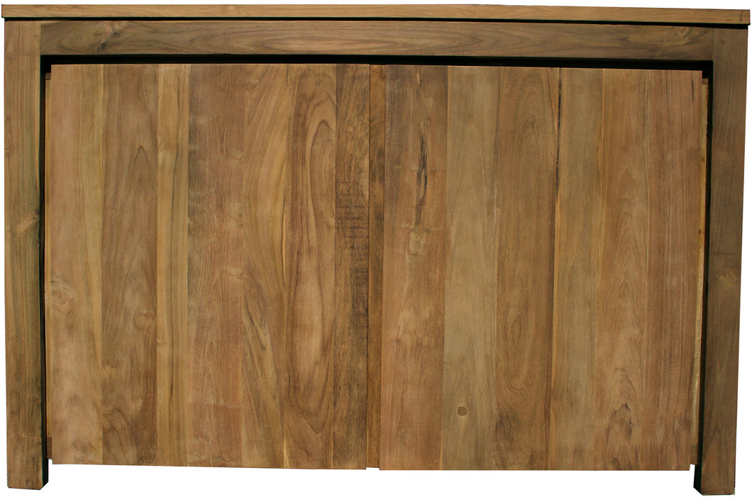 Recycled Teak Solo Buffet 2 Doors-Chic Teak