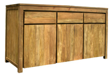 Recycled Teak Solo Buffet 3 Doors 3 Drawers-Chic Teak
