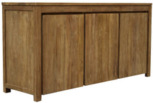Recycled Teak Wood Solo Buffet 3 Doors - La Place USA Furniture Outlet