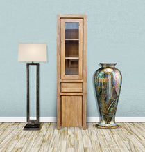 Recycled Teak Wood Solo Cupboard / Curio Cabinet - La Place USA Furniture Outlet