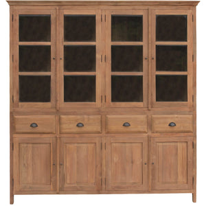 Recycled Teak Bali Cupboard Large - La Place USA Furniture Outlet