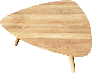 Recycled Teak Wood Retro Coffee Table