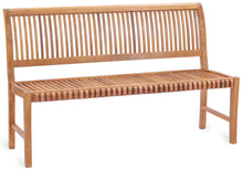 Teak Wood Castle Bench without Arms, 5 ft - La Place USA Furniture Outlet