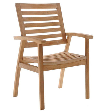 Teak Kasandra Arm Chair-Chic Teak