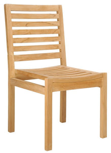 Teak Kasandra Side Chair - La Place USA Furniture Outlet