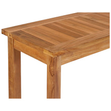Teak Wood Santa Monica Serving Table