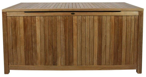 Teak Wood Santa Barbara Pool and Deck Storage Box - La Place USA Furniture Outlet