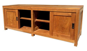 Teak Wood Venice Media Center - La Place USA Furniture Outlet