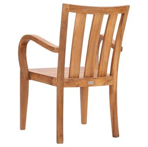 Teak Wood Boston Arm Chair