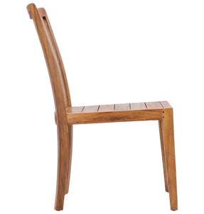 Teak Wood Boston Side Chair