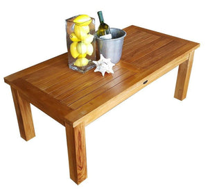 Teak Wood San Diego Coffee Table - La Place USA Furniture Outlet