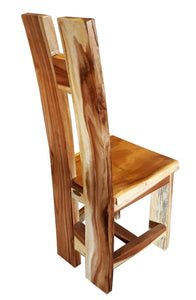 Suar Orinoco Live Edge Dining Chair - La Place USA Furniture Outlet