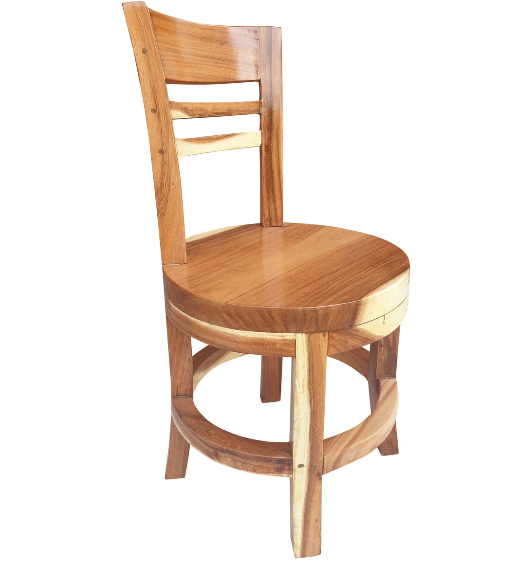 Suar Olympia Live Edge Dining Chair - La Place USA Furniture Outlet