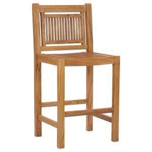 Teak Wood Maldives Barstool