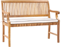 Cushion for 4 Foot Teak Castle Benches With and Without Arms - La Place USA Furniture Outlet
