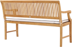 Cushion for 5 Foot Teak Castle Benches With and Without Arms - La Place USA Furniture Outlet